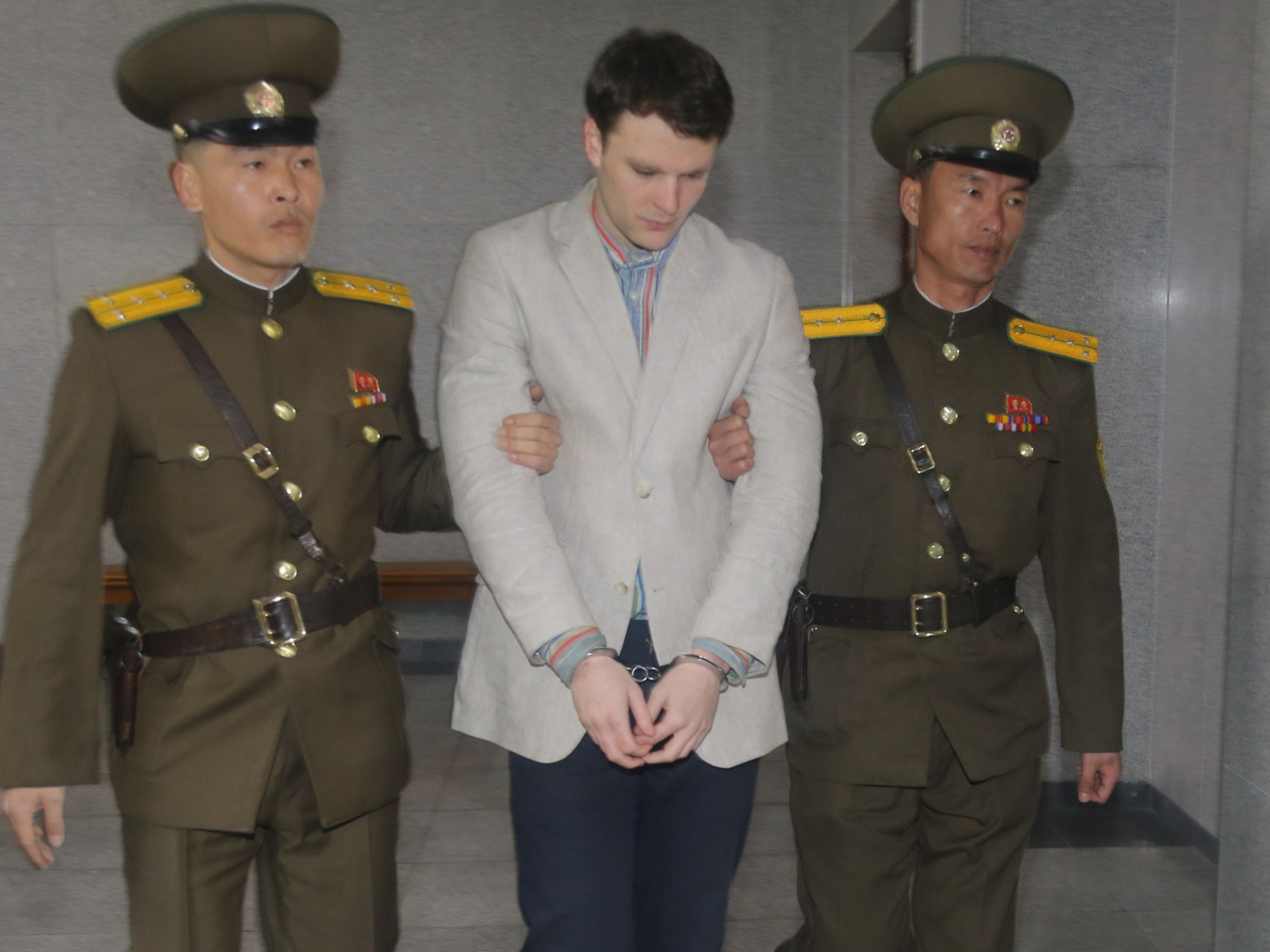 American Student Freed By North Korea Arrives Home