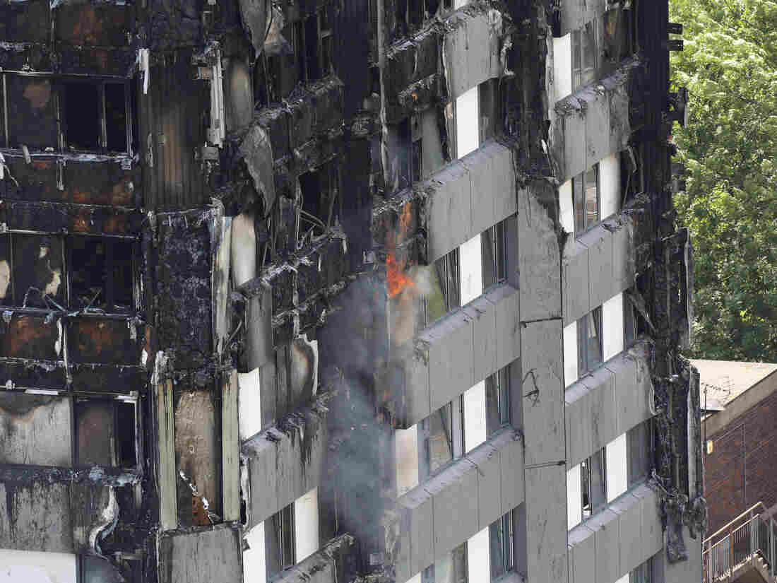 Confirmed death toll in London fire rises to 30
