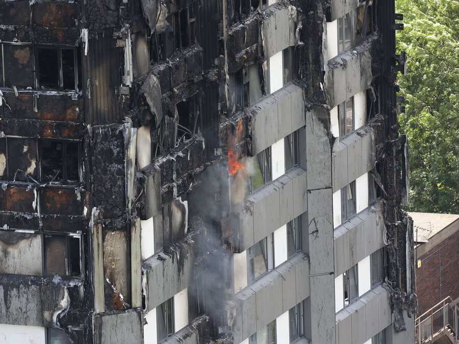 Death Toll In London Apartment Building Fire Rises To 17 : The Two ...