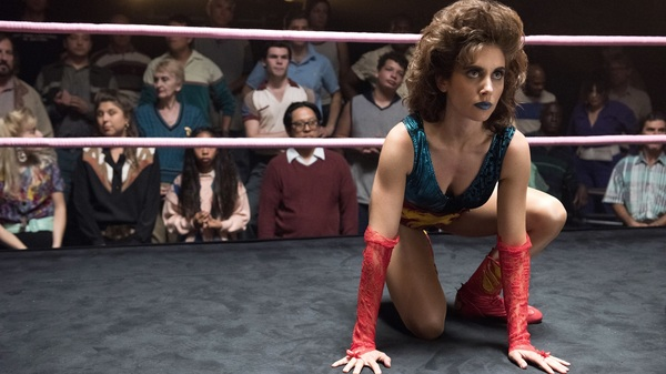 Alison Brie as Ruth, in the ring on GLOW.