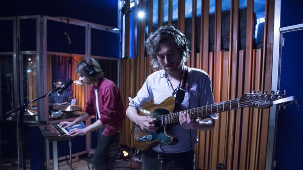 "Phoenix performs ""Fior Di Latte"" live in the studio for KCRW."