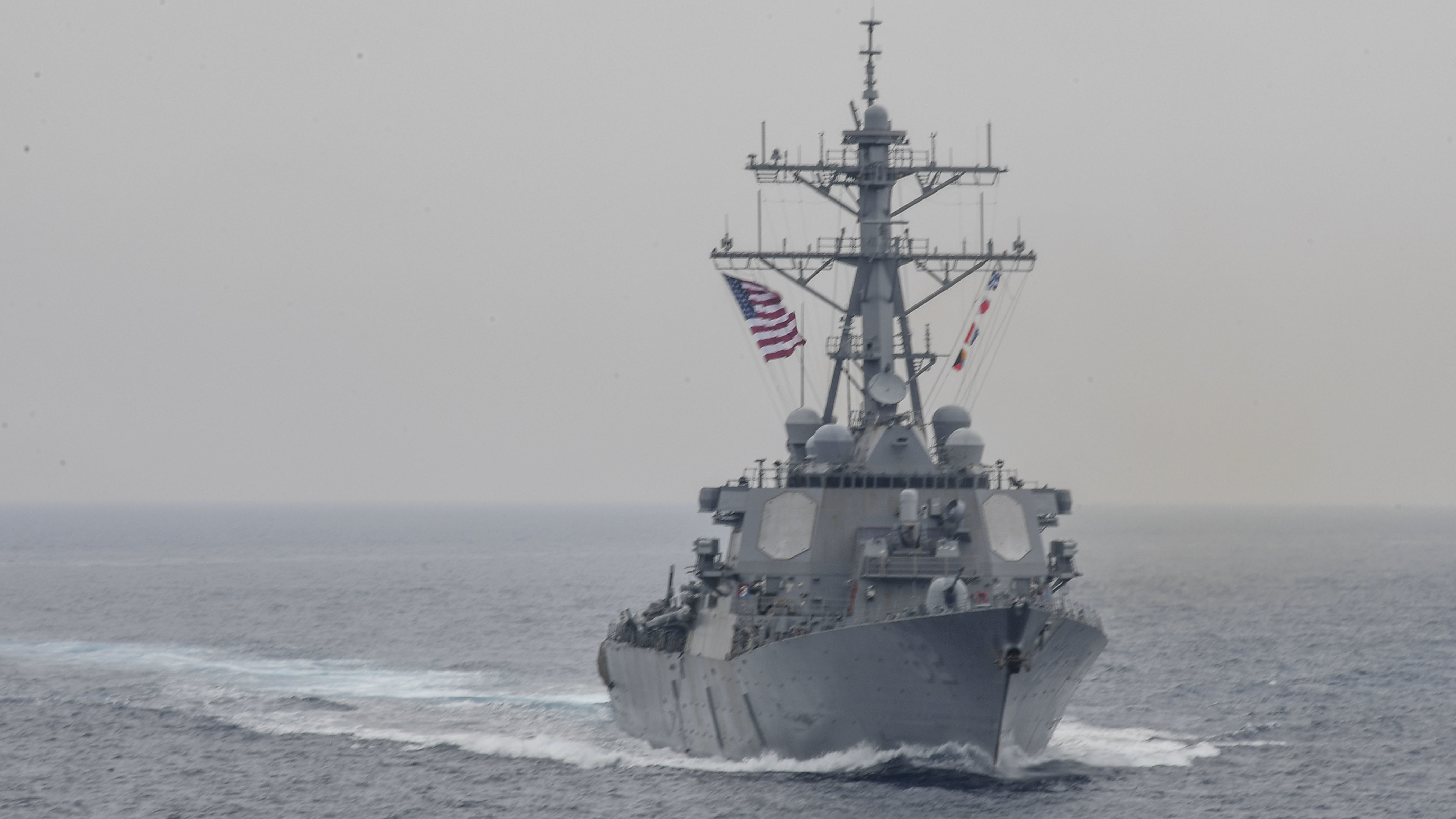 Coast Guard confirms 7 missing from US Navy ship