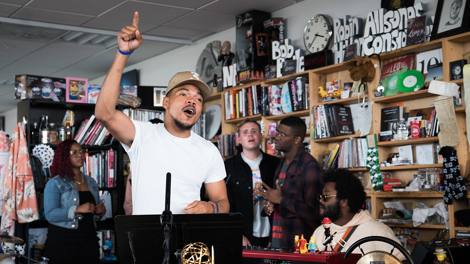 Chance The Rapper Covers Stevie Wonder on 'Tiny Desk'