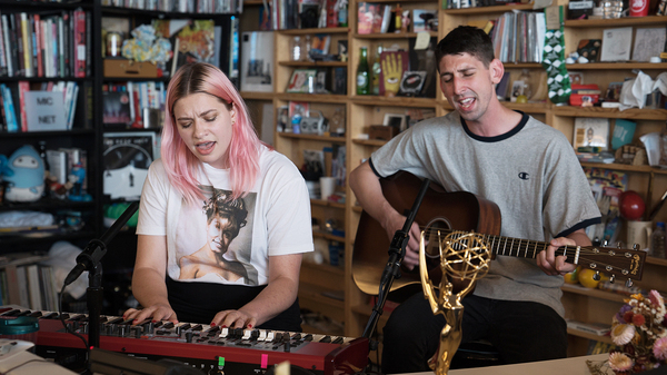 Tigers Jaw performs at NPR