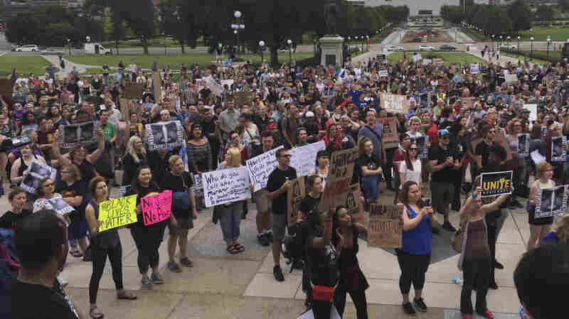Hundreds Protest After Minnesota Officer Found Not Guilty In Philando Castile Death