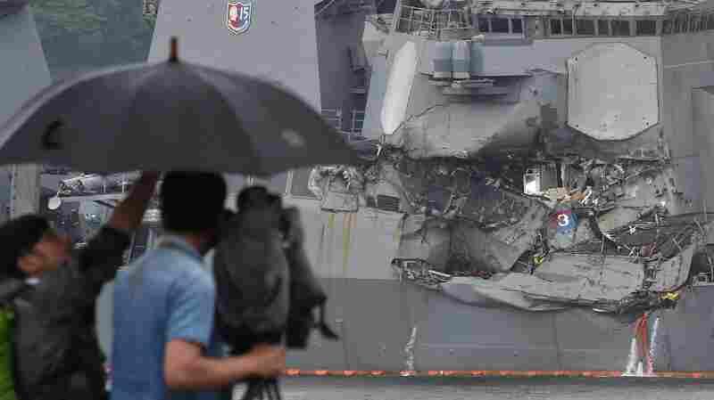 U.S. Navy Identifies 7 Sailors Found Dead After Navy Destroyer's Collision