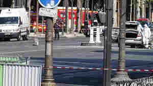 Car Rams Police Van In 'Attempted Attack' On Champs-Élysées