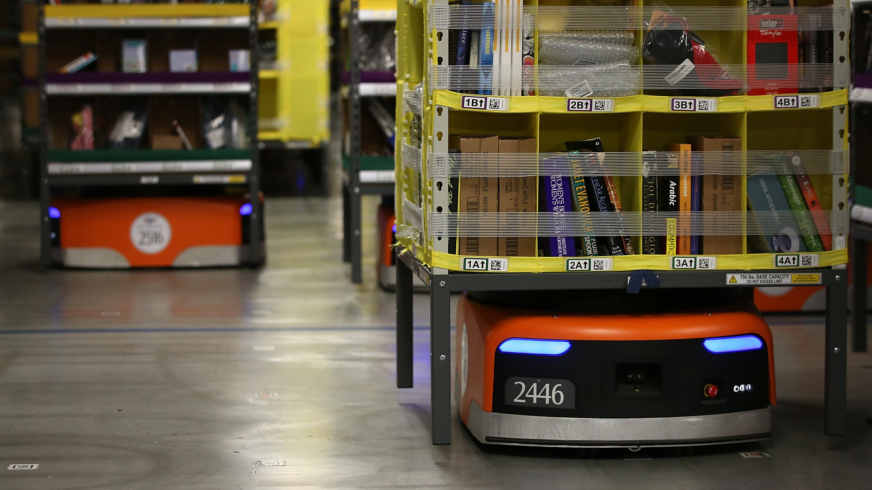 Image for Online Retail Boom Means More Warehouse Workers, And Robots To Accompany Them Article