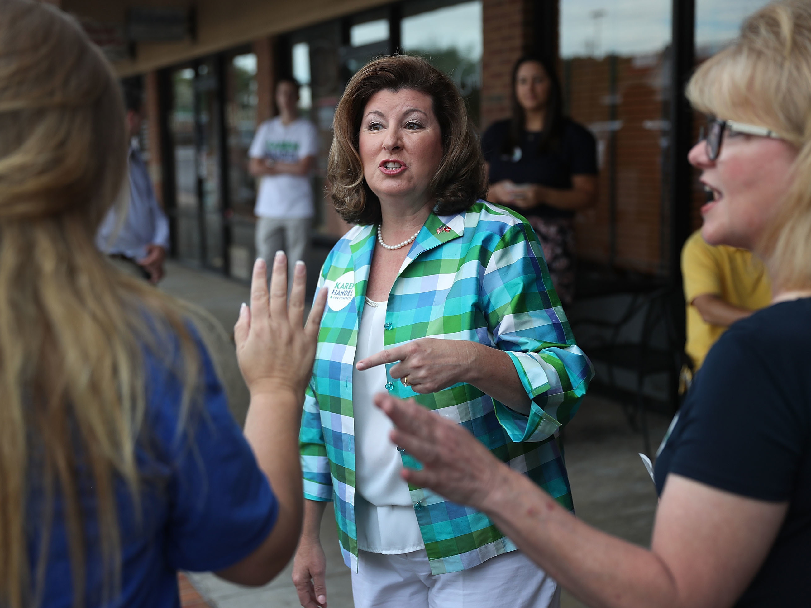 Republican Karen Handel projected winner in GA District 6 special election
