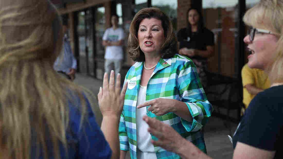 Trump Makes Final Push For GA Republican Karen Handel