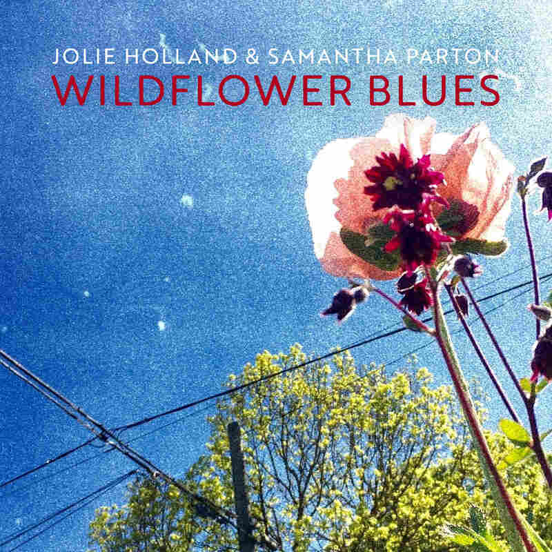 Cover art for Jolie Holland and Samantha Parton's new album Wildflower Blues