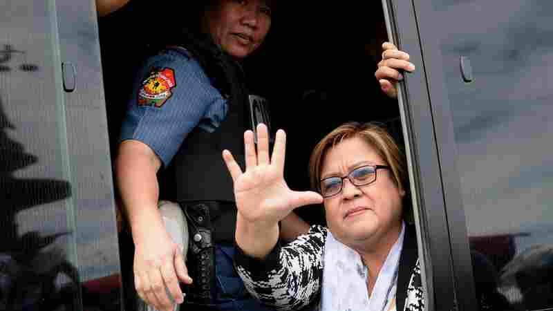 Jailed Philippine Senator: 'I Won't Be Silenced Or Cowed'