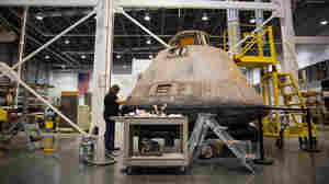 Moonwalkers' Apollo 11 Capsule Gets Needed Primping For Its Star Turn On Earth