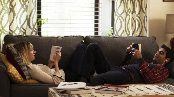 Zoe Kazan stars alongside Kumail Nanjiani in The Big Sick.