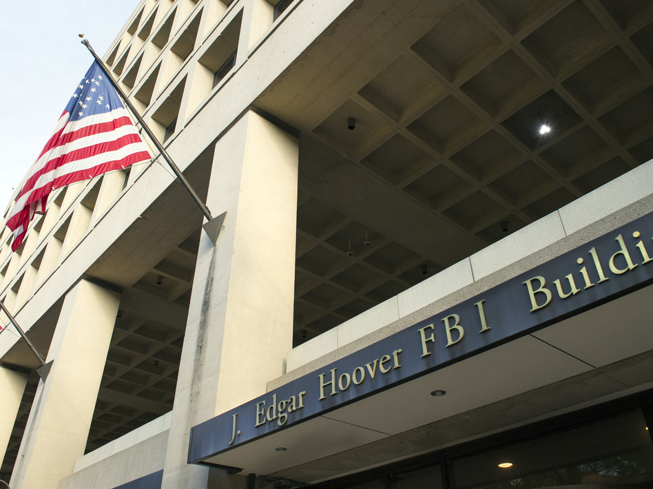 The FBI's J. Edgar Hoover Headquarters is aging and obsolete, and officials want to replace it with a more modern structure in the suburbs of Washington, D.C. (Cliff Owen/AP)