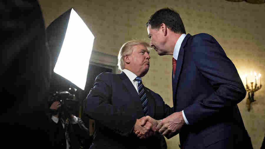 Trump: 'I Did Not Make, And Do Not Have' Recordings Of Comey