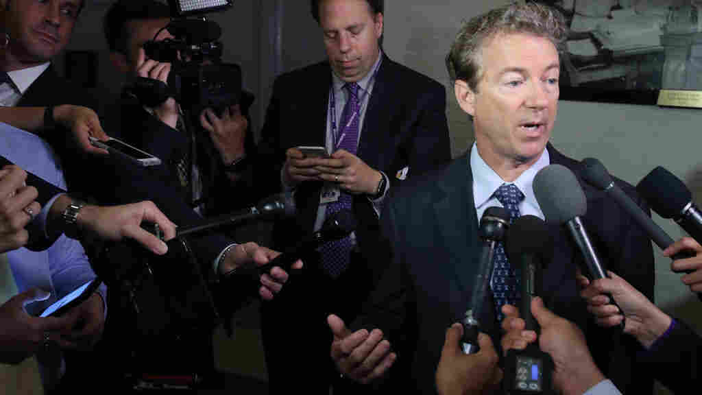 Senate leaders try to appease members as support for health bill slips