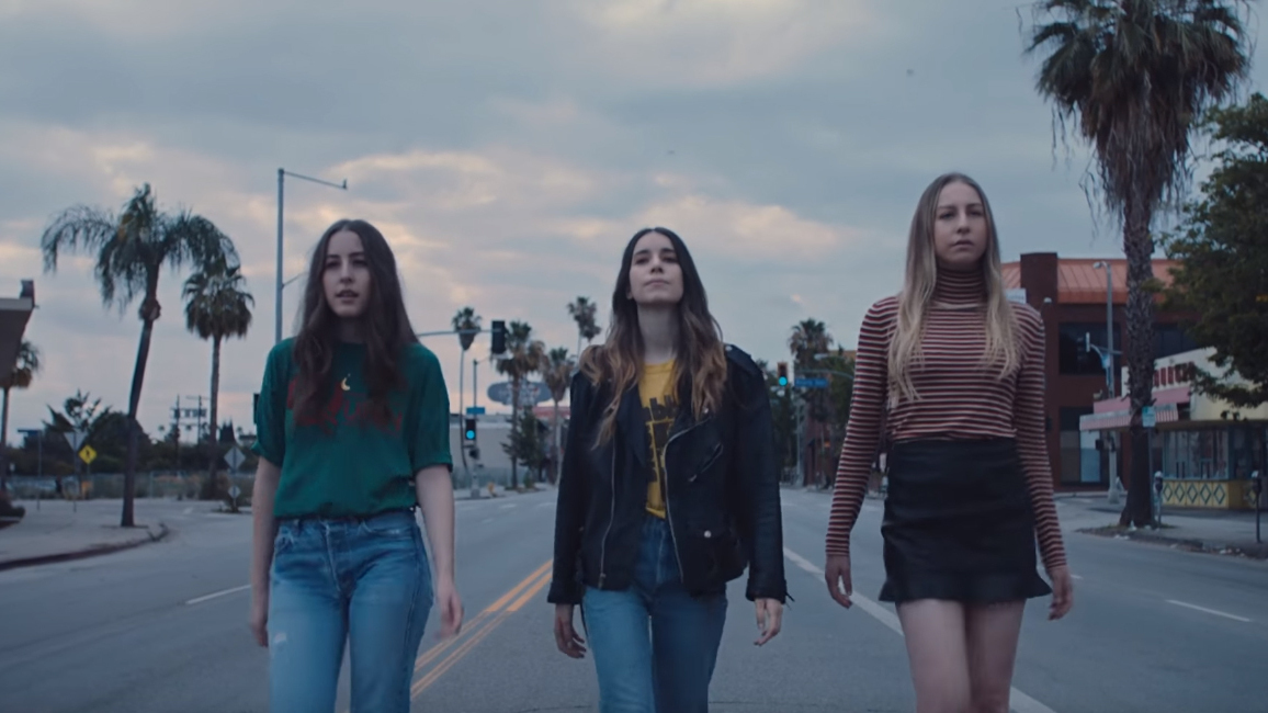 Haim Walks The Streets Of Its Hometown For Want You Back Video