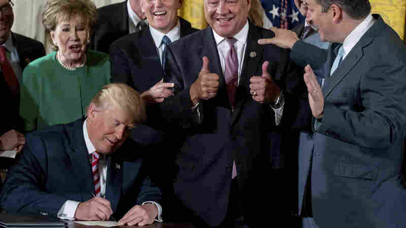 Despite Claims To Contrary, Trump Has Signed No Major Laws 5 Months In