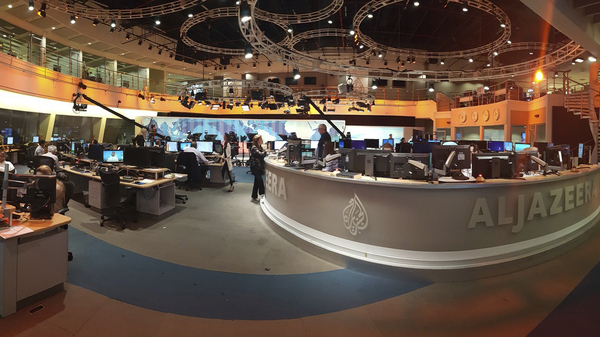 Al-Jazeera staff in Doha, Qatar. The news network has been thrust into the center of a diplomatic standoff, with Saudi Arabia and several other Arab countries calling on Qatar to close it in their list of demands on the Persian Gulf country.