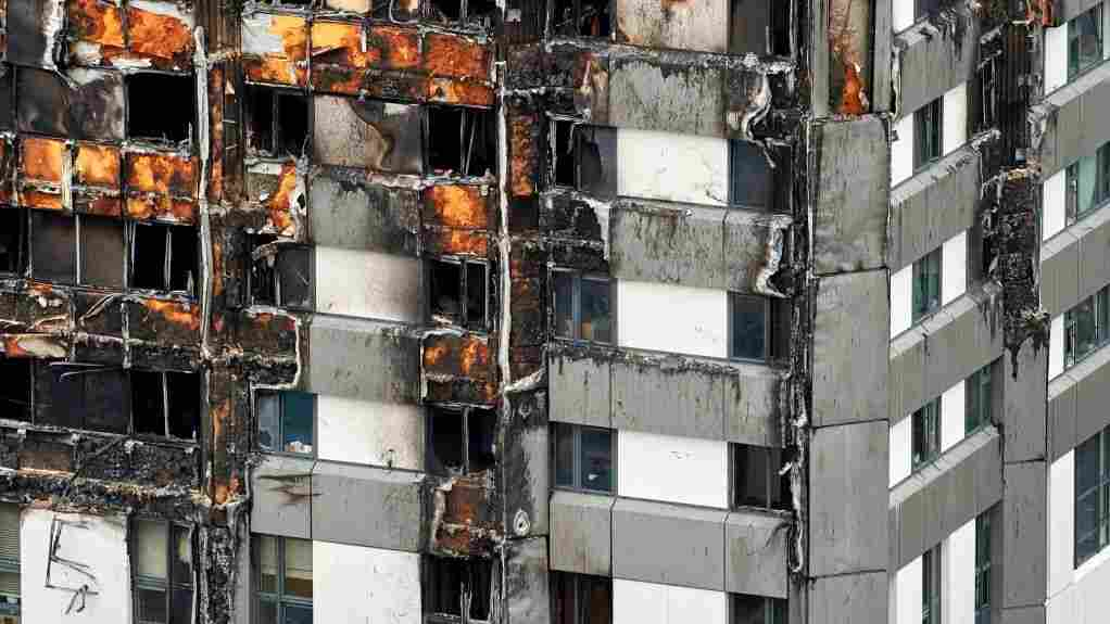 Some US States Relax Restrictions On Cladding Suspected In Grenfell Tower Fire – NPR
