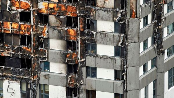 The cladding used in a 2016 refurbishing of Grenfell Tower in London helped last week