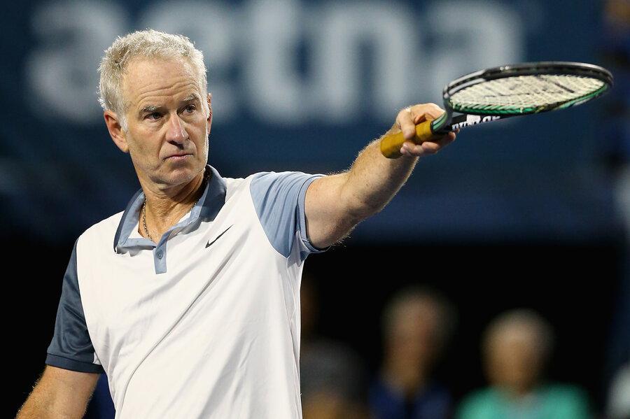 But Seriously,\' Tennis Great John McEnroe Says He\'s Seeking \'Inner ...