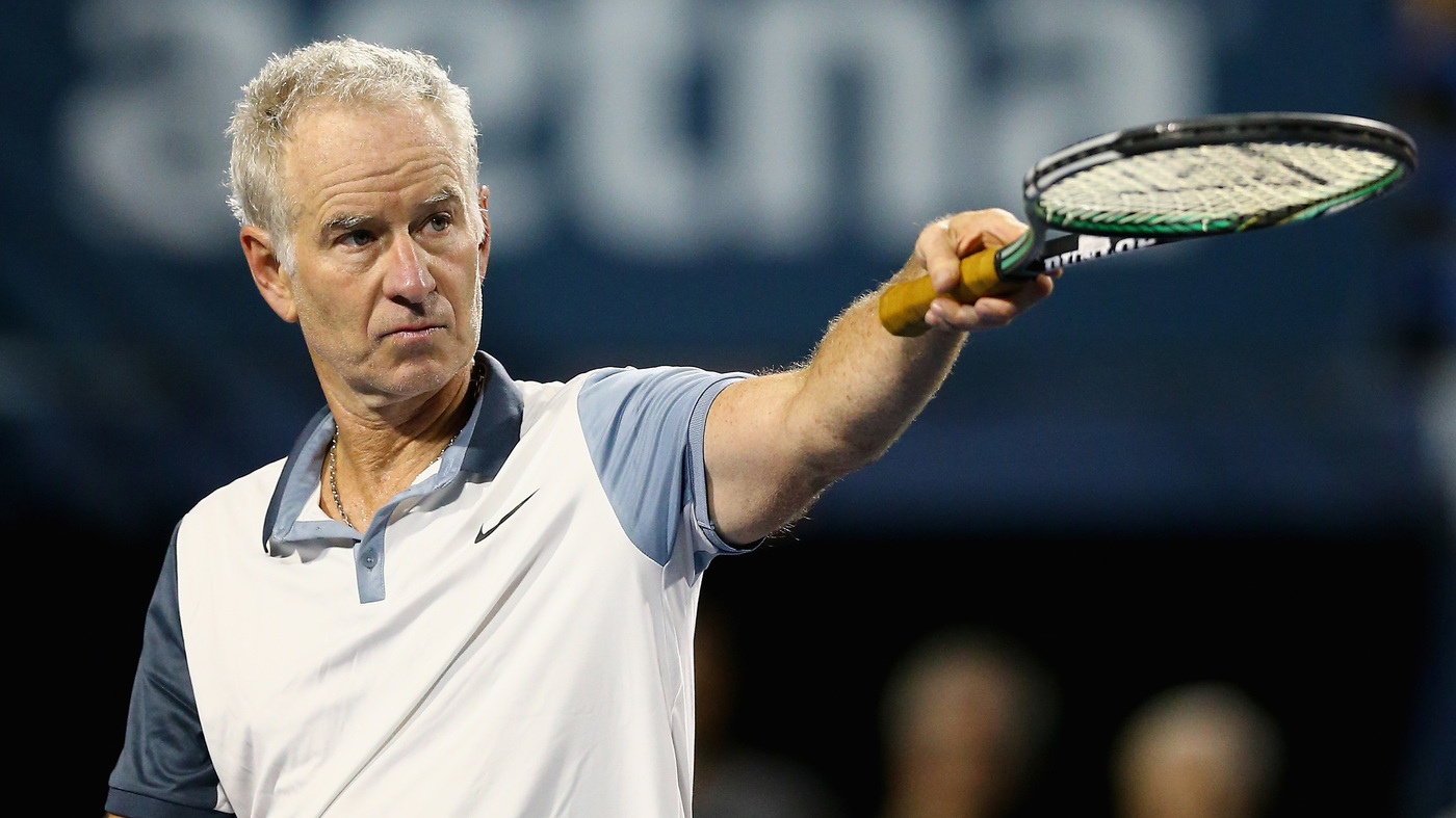 But Seriously Tennis Great John Mcenroe Says He S