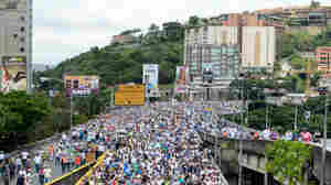 For The Venezuelan Opposition, Protests Are 'Like A War'