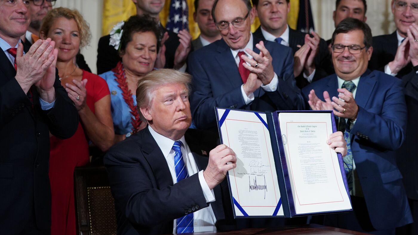 President Trump Has Signed 40 Laws So Far, Here's What ...