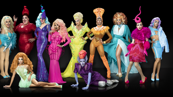Sasha Velour competed against 13 other drag queens in season nine of RuPaul