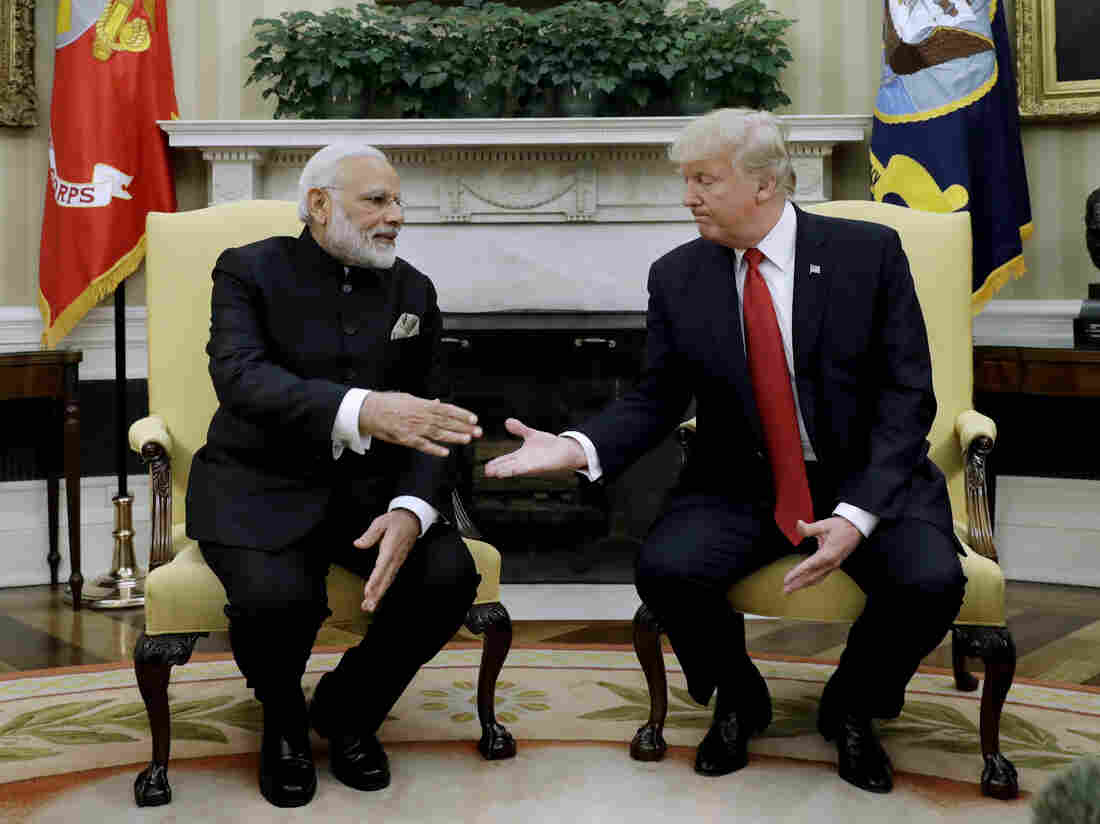 Trump And India's Modi Share Similarities, But A Host Of Issues Divides Them – NPR