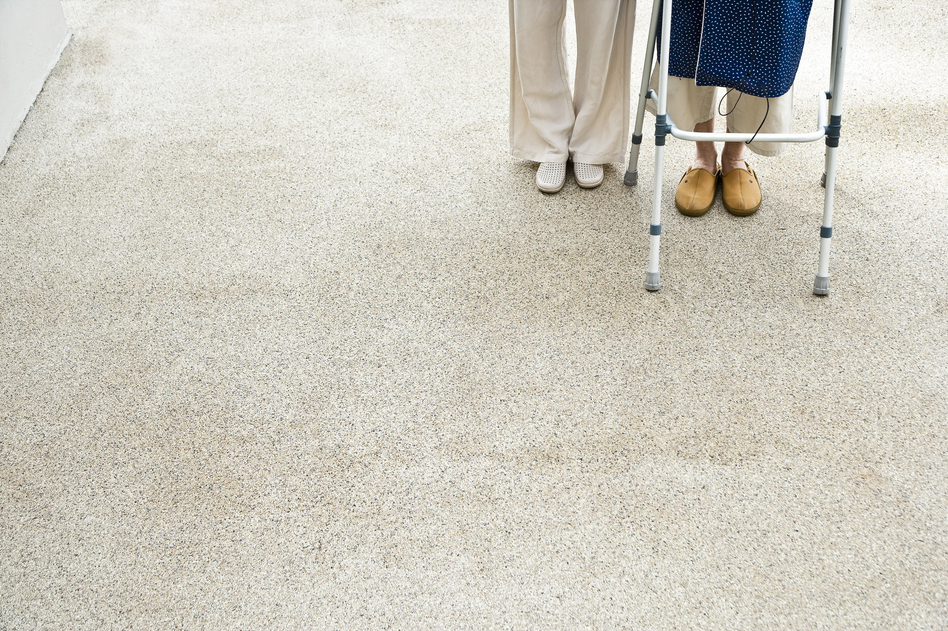 Medicaid pays the costs for about 62 percent of seniors who are living in nursing homes, some of the priciest health care available. (Tomas Rodriguez/Getty Images/Picture Press RM)