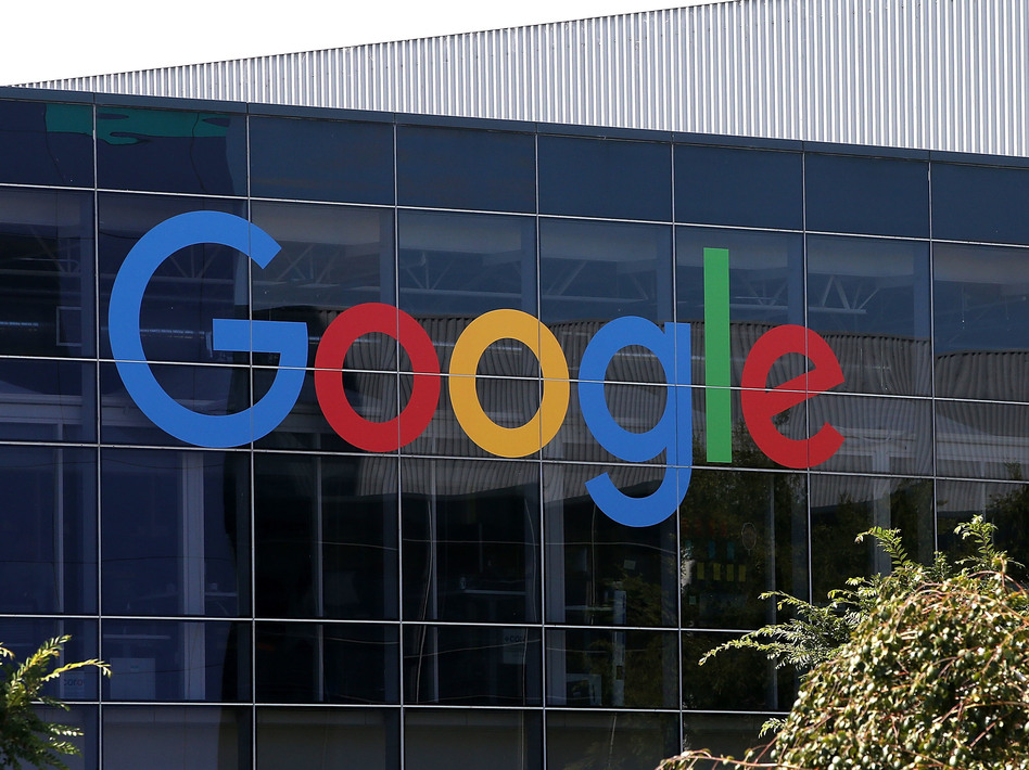 Google has announced it will no longer scan users' emails to target ads. Above, the company's headquarters in Mountain View, Calif., in 2015. (Justin Sullivan/Getty Images)