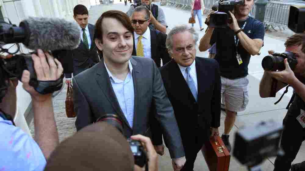 'Pharma Bro' Martin Shkreli Goes On Trial On Securities Fraud Charges