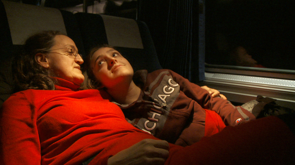 A college student and her mother head west on the Empire Builder in Albert Maysles