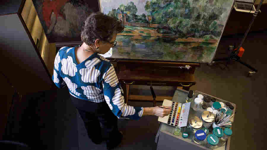 With Chemistry And Care, Conservators Keep Masterpieces Looking Their Best