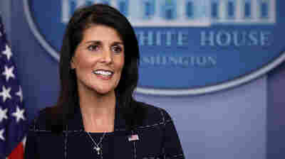 Ethics Group Says U.N. Ambassador Nikki Haley's Retweet Violated A Federal Law