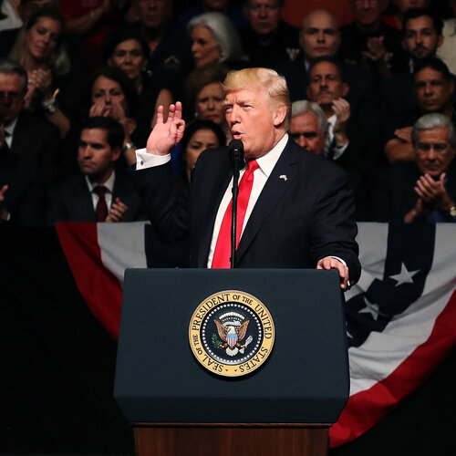 Trump Fails To Reach Beyond Base As Independents' Disapproval Grows