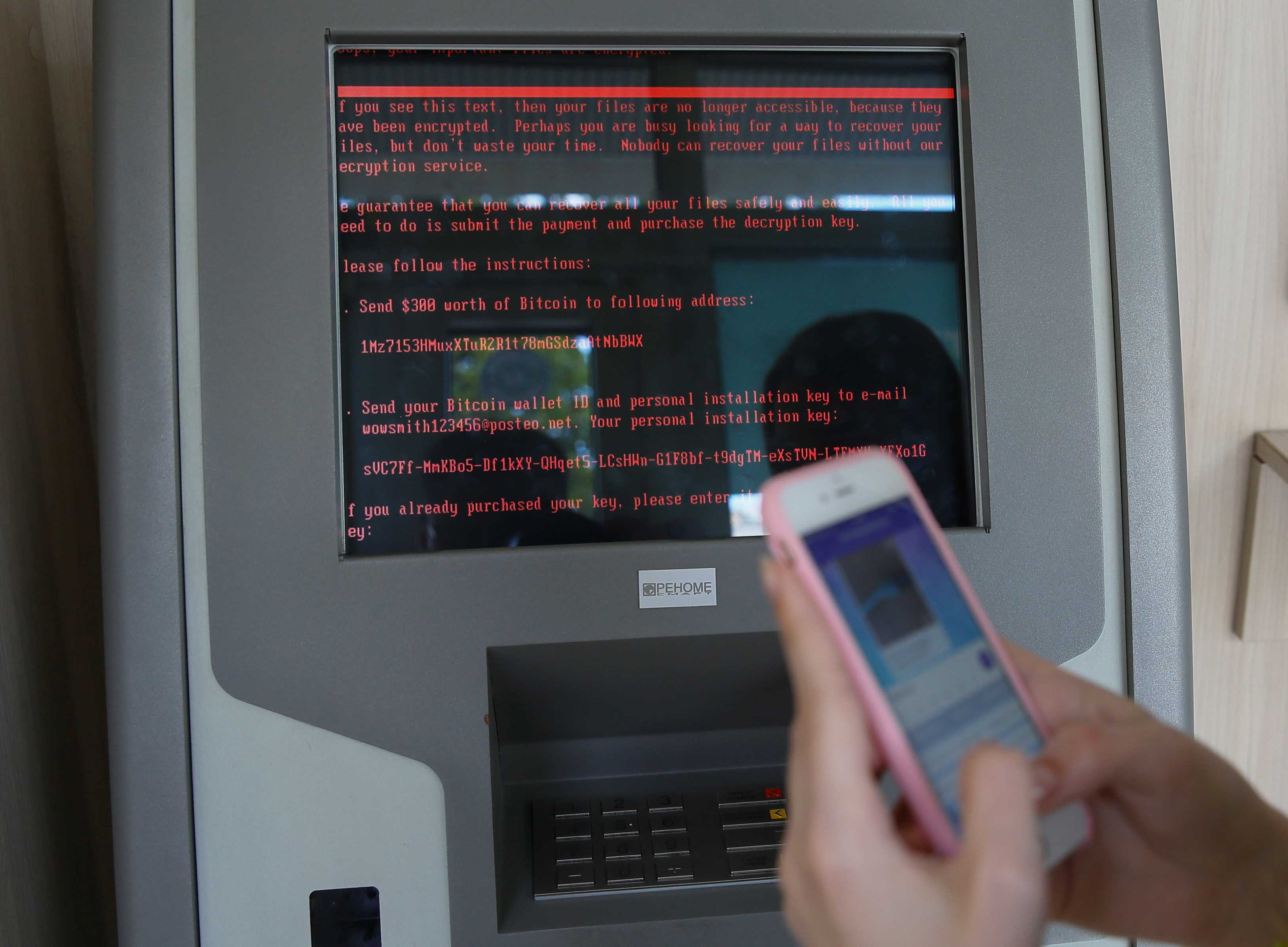 Large Cyberattack Hits Ukraine, Snarling Electric Grids And Banks
