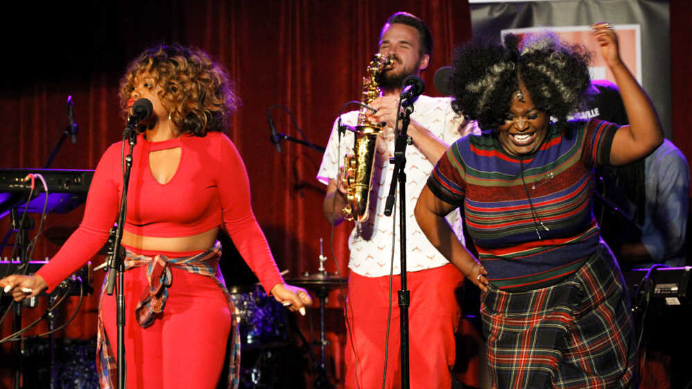 Tank and the Bangas perform on NPR's Ask Me Another