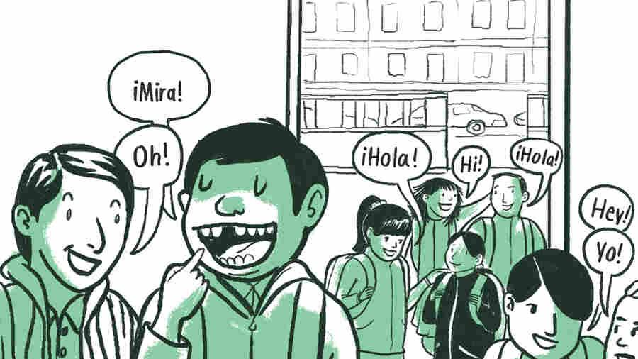 I Am Learning Inglés: A Dual-Language Comic