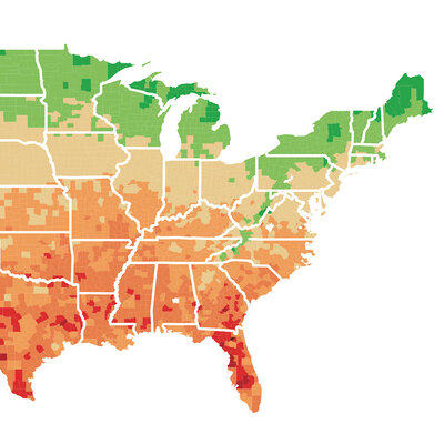 Mapping The Potential Economic Effects Of Climate Change