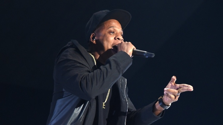 JAY-Z, shown performing at Barclays Center of Brooklyn Oct. 20, 2015, has released <em>4:44</em>, his first album in four years. (Jamie McCarthy/Getty Images for TIDAL)