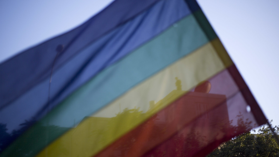 Two plaintiffs had challenged the extension of Houston's taxpayer-subsidized benefits policy to married same-sex couples. (Ariel Schalit/AP)