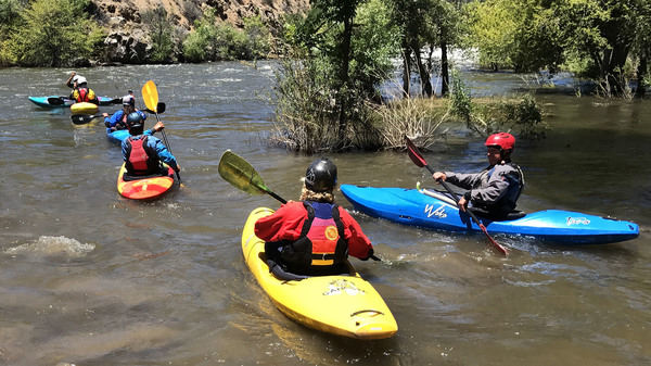 Increased snowmelt from Mount Whitney is turning Kern River into a dangerous playground for kayakers and other white-water enthusiasts.