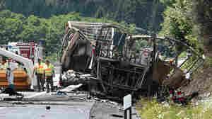 18 Believed Dead After Fiery Bus Crash In Germany