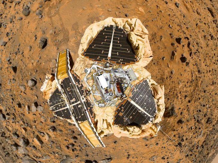 mars landing spacecraft - photo #37