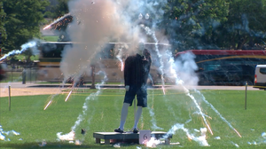 Government Blows Up Mannequins In Annual Plea For Fireworks Safety