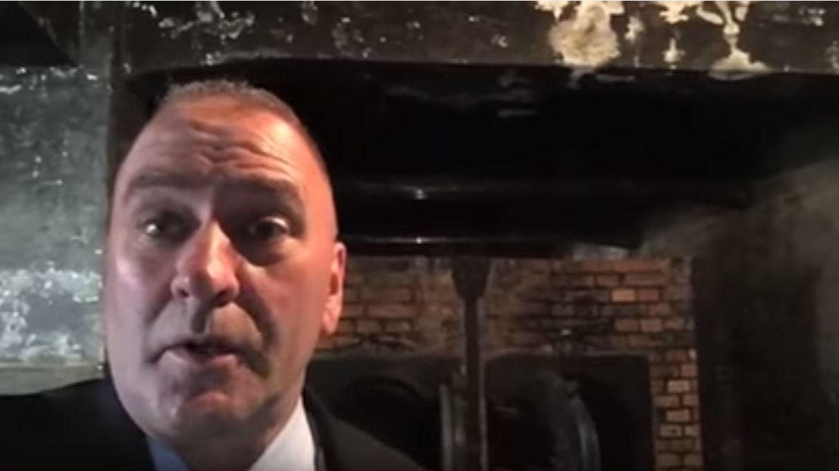 Auschwitz Memorial Tells Higgins 'It's not a stage'